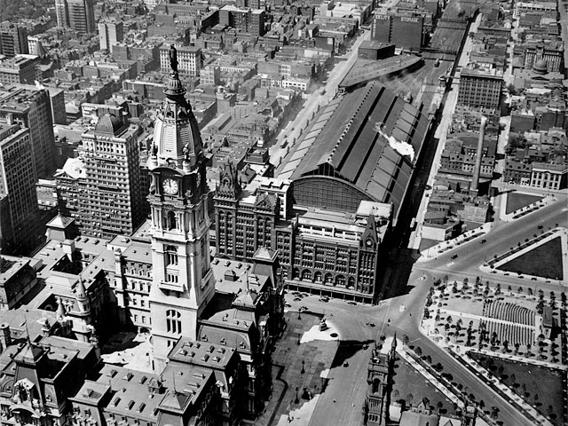 Broad Street Station Philadelphia 1920s